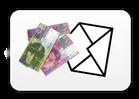Bargeld senden beim online Shop der-Wegweiser
