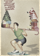 stay fit and healthy before, during and after Christmas