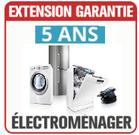 Possibilité de souscrire à une extension de garantie sur vos appareils électroménagers
