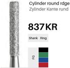FG-Diamant 837KR, Zylinder Kante rund