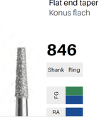 FG-Diamant 846, Konus flach