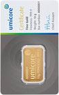 Goldbarren Umicore 10 Gramm Gold