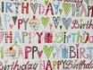 """""""Happy Birthday"""" - Als Geschenk verpackt / Emballé avec papier à cadeau"""
