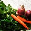 Odori misti (carote, cipolle, prezzemolo, sedano, scalogno)