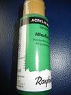 Acrylfarbe Blattgrün