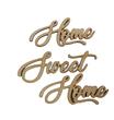 Scritta Home Sweet Home Legno 40 cm