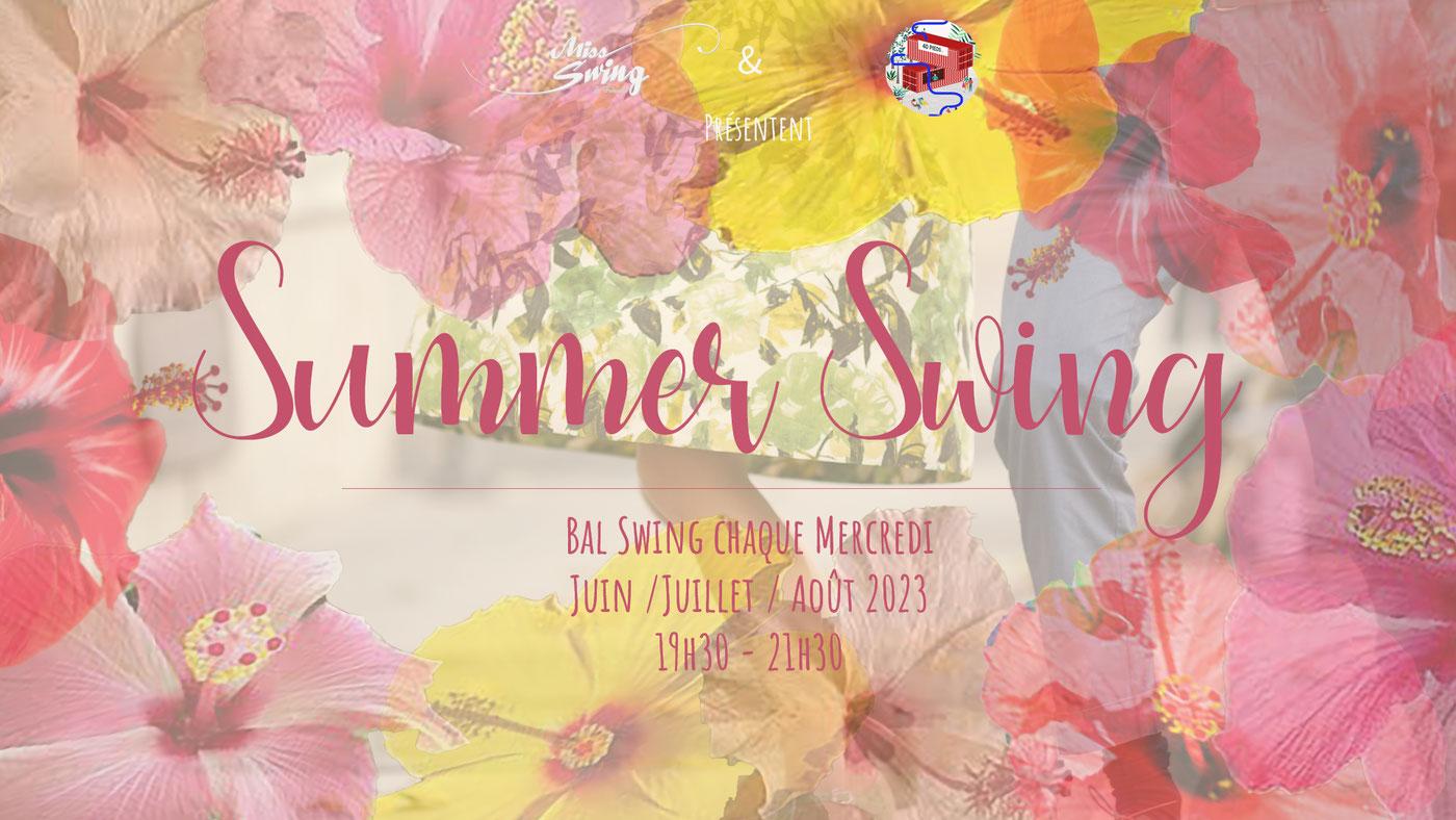 Nantes - 16/6 au 25/8/2021 - Summer Swing - Miss Swing & Friends