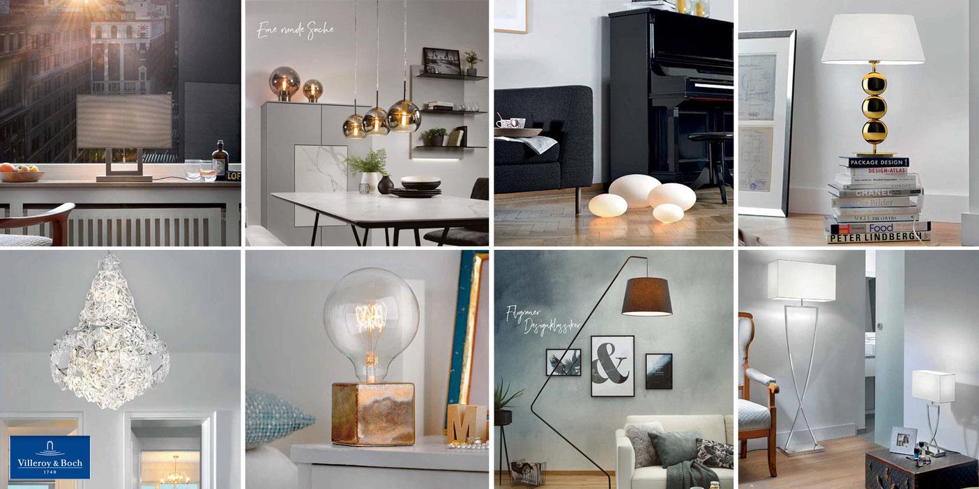 Produktauswahl  Designerleuchten Villeroy & Boch