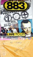 Biglietto Tour 2001