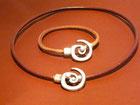 Parure Collier/Bracelet Spirale