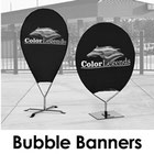 Bubble Street Banner Stand Pinpoint