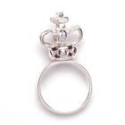 Silver crown ring emma hedley jewellery