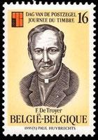 Padre Frans De Troyer, es el Patrono de la Filatelia Temática.