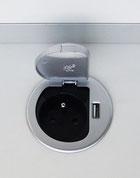 Prise compacte pour Call Center