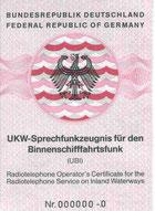 UKW-Sprechfunkzeugnis