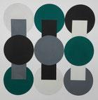 Ellen Roß, squares & circles, Collage