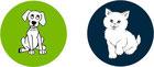 Fassisi Triple Kombi-Test zum Nachweis von Coronaviren bei Hunden oder Katzen
