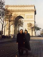 父と最後となったパリで