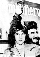 Mano, der junge Revoluzzer mit Fidel 1971
