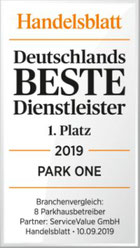 Auszeichnung Deutschlands bester Dienstleister