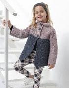 laine Katia collection Mousse modèle N°8