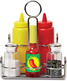 Ensemble condiments et assaisonnements