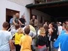 Schüler besuchen Winzer - 2011
