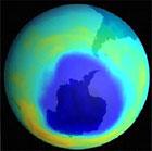 南極・北極オゾンホ-ル