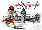 Postkarte StammgastNr1 Luzern Marathon