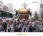 千囃連さん:四谷須賀神社例大祭