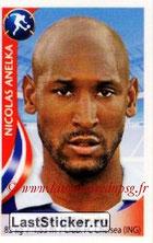 N° 063 - Nicolas ANELKA (1995-97 et 2000-Janv 02, PSG > 2010, France)