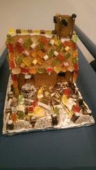 Lebkuchenhaus zum Plündern