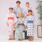 日本製定番浴衣