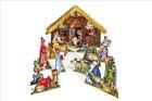 Weihnachts- und Ostermotive als Kartonmodell