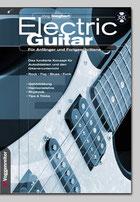 """funky Gitarrengrooves und rhythmische Übungen gibt es auch im Lehrbuch """"Electric Guitar"""" von Jörg Sieghart"""