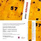 einladung; offene ateliers; künstler; peter köcher; bexbach;