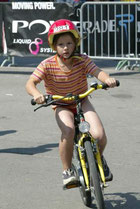 mein erstes Wettkampfrad