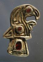 fibule mérovingienne découverte à Sauville ( musée d'Epinal )