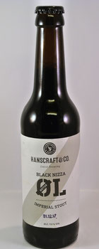 Hanscraft Bier: Motor Oel Black Nizza Imperial Stout