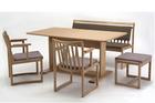 ユニバーサルデザイン 食卓セット 椅子チェアテーブル 和家具 高齢者年配