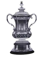 Photos of British culture: the FA Cup trophy