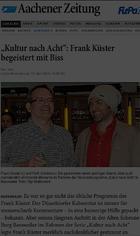Frank Küster, Die Frizzles, Kabarett, Baesweiler, Comedy, Uerige, Ürige, Düsseldorf, Altstadt, Kultur nach acht, Küster-Nacht