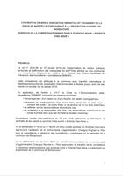 Convention de mise à disposition, 2019