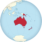 Australien - Oceania (orthographic projection).svg (von Ch1902)., CC BY-SA 3.0, https://commons.wikimedia.org/w/index.php?curid=14959453
