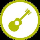 Gitarre und Trommel