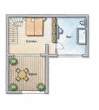 Grundriss Wohnung 3 OG2