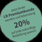 Jetzt LR-Premiumkunde werden und dauerhaft 20% sparen