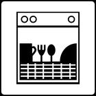 Spülmaschinen-Zeichen