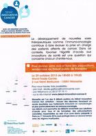Debat innovation cancer LMC France leucemie myeloide chronique BMS Bristol-Myers Squibb cancer recherche