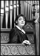 Organistin Helga Schauerte